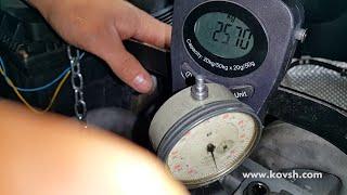 Определение пропадания компрессии электронным компрессометром и осциллографом