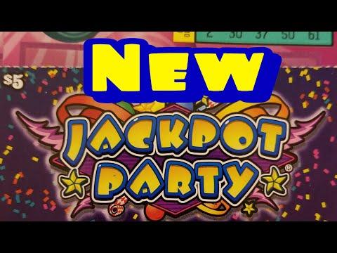 New $5 Jackpot party. Pa lottery scratch tickets.