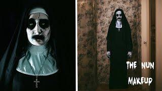 VALAK The Nun Halloween Makeup Tutorial