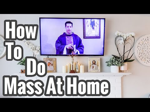 MASS at HOME ~ CATHOLIC (what we do in our family)