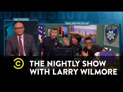 The Nightly Show - Police Crisis in Oakland, CA