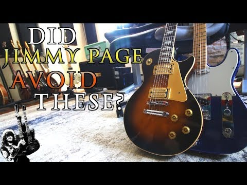 Why Didn't Jimmy Page Play One Of These?