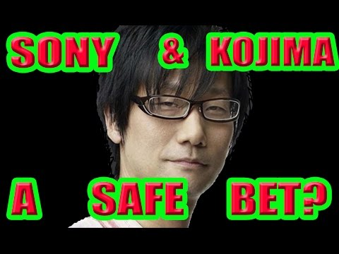 """ANALYST """" SONY AND KOJIMA'S PARTNERSHIP IS A SAFE BET""""!"""