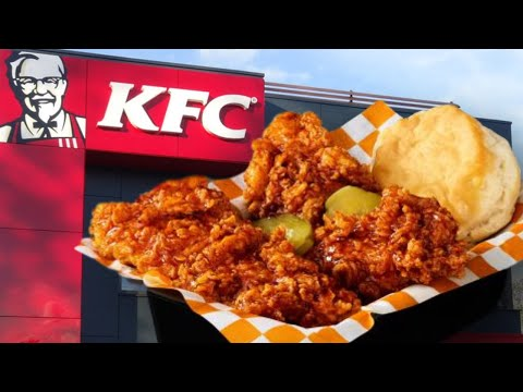 KFC Hot Honey Tenders Review
