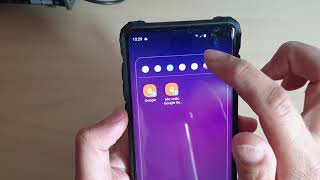 Galaxy S10 / S10+: How to Create a Folder and Group Similar App's Icon on Home Screen