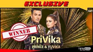 Nach baliye season 9 Winner Prince with his wife PRIVIKA
