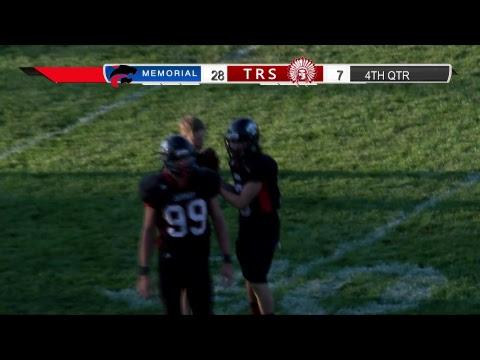 Memorial vs. Toms River South Football, 9/28