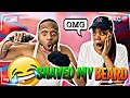 SHAVING My BEARD OFF To See How My WIFE Would React!!! | Nicky & Dean