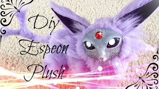 DIY Posable Espeon Plush Pokemon