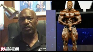 Lee Haney's advice to Shawn Rhoden
