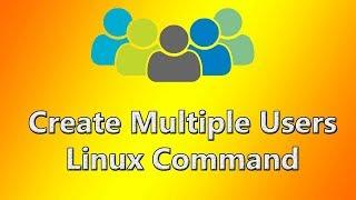 Linux Create User   Shell Script   RHCE   Tech Arkit