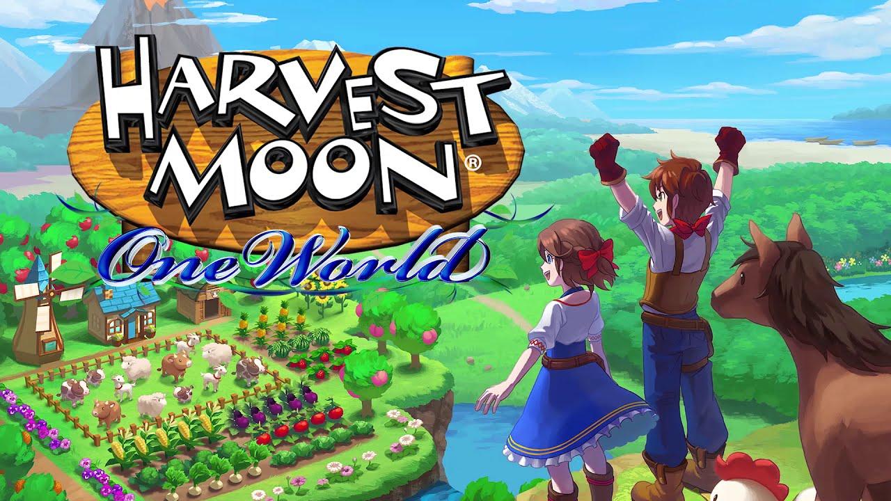Harvest Moon: One World Trailer - YouTube