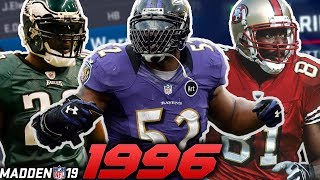 1996 NFL Draft in Madden 19!