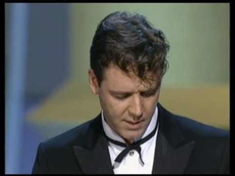 Memorable Oscar® moment - Russell Crowe