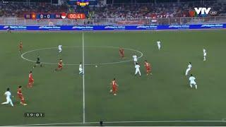 U22 Việt Nam vs U22 Indonesia | Bóng đá Nam Sea Games 30
