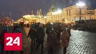 Крымские школьники приехали в Москву