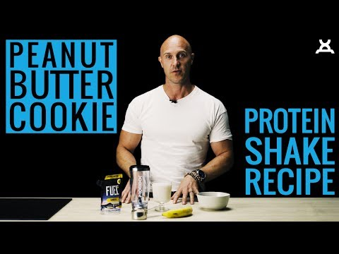 PEANUT BUTTER COOKIE SHAKE | PROMiXX Kitchen (Recipe) [2018]