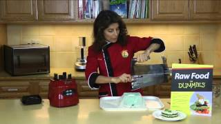 Raw Food Recipe: How to Make Almond Cheese