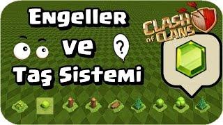 Clash Of Clans - Engeller Ve Taş Sistemi  Gem Dizilimi