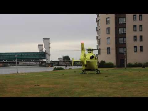 Lifeliner 3 PH-ELP inzet in Capelle aan den IJssel