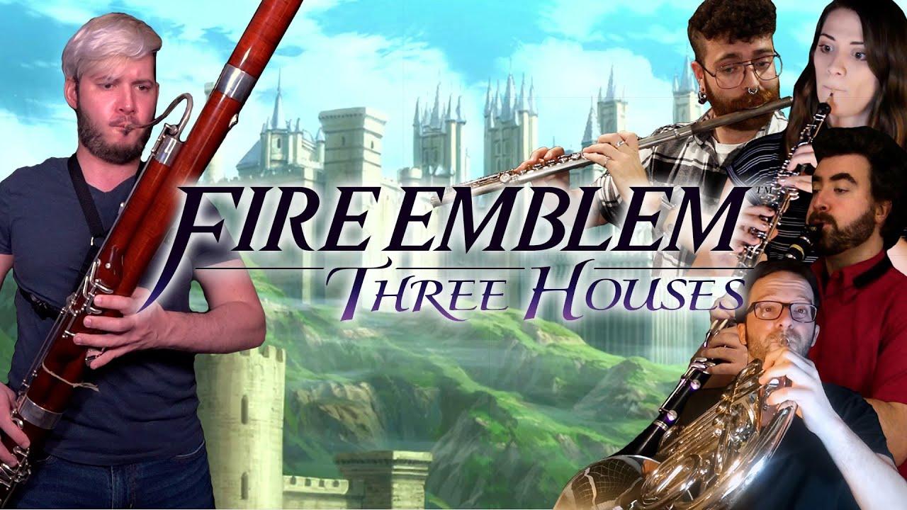 Fire Emblem: Three Houses - Life at Garreg Mach Monastery | Wind Quintet