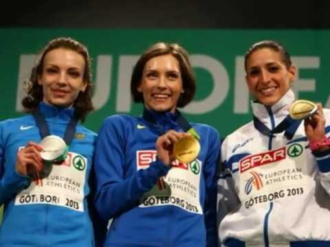 Goteborg beauties European indoor Championships 2013