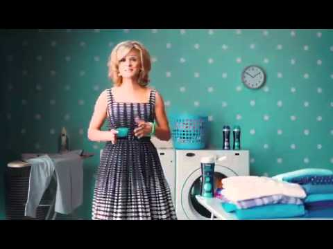 who is the person in the downy unstoppable commercial