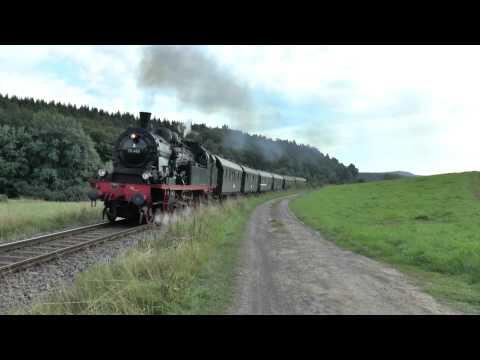 Dampflok 78 468 bei Wiesenfeld
