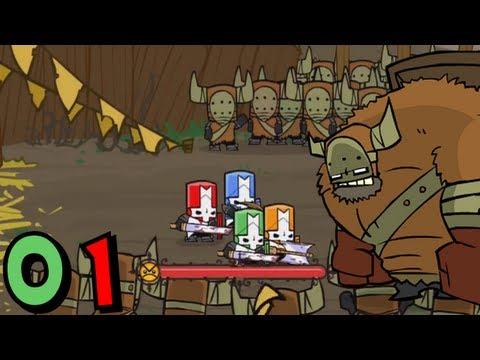 Castle Crashers Coop  Episode 01