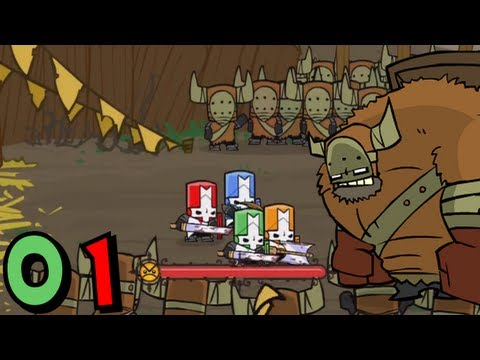 Castle Crashers (Co-op) - Episode 01