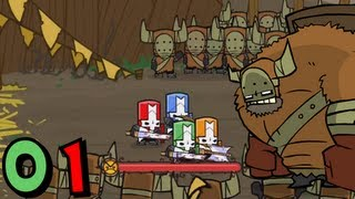 Castle Crashers (Co-op) - Episode 01 thumbnail