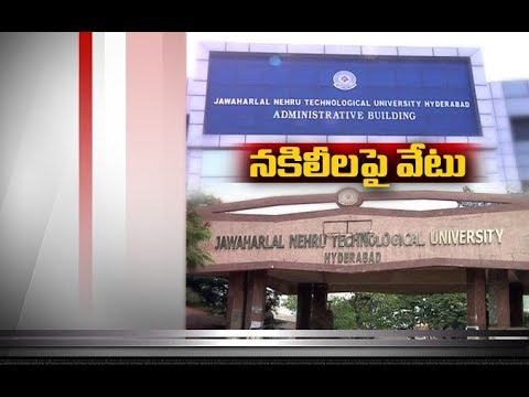 fake lecturers telling lessons with bogus certificates identified by jntu