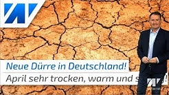 Dürre in Deutschland! Die große Trockenheit ist wieder zurück!