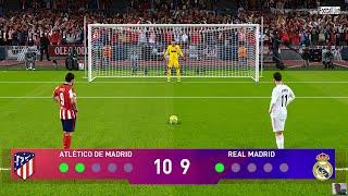 PES 2021   Atletico Madrid vs Real Madrid   LaLiga Santander   Penalty Shootout   Gameplay
