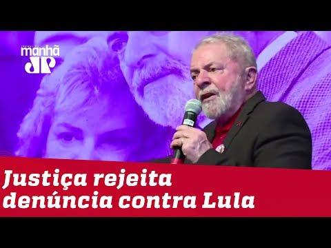 Ministério Público tem pedido de denúncia contra Lula negado