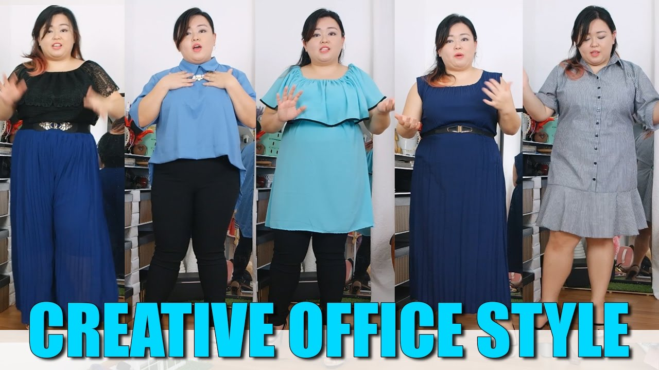 659dcbf6ed Plus Size Fashion - Dressing for a Creative or Casual Office - YouTube