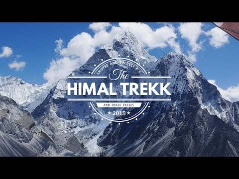 The best movie from Everest Base Camp Trek | October 2015 | Three Passes Route