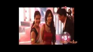 Kajol meet Shahrukh Khan at Hello fame Award