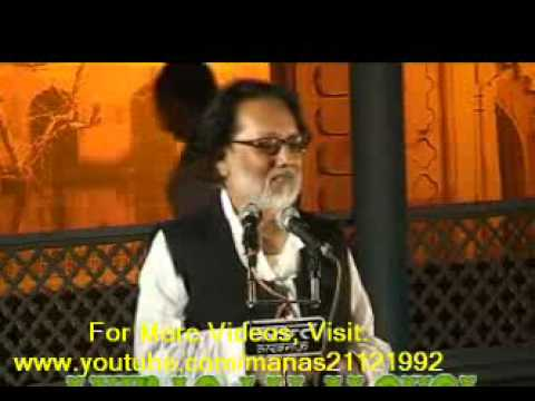 Poet Anwar Jalalpuri at Ravindralaya, Lucknow-2012