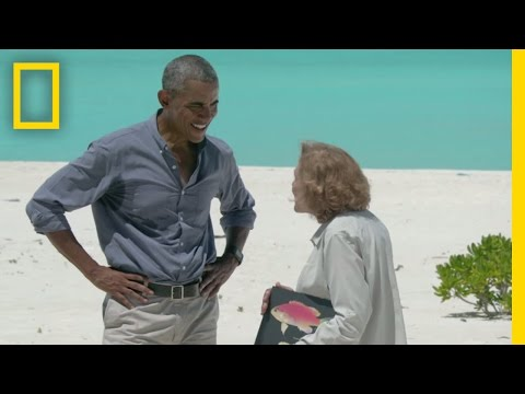 President Obama on Deep-Sea Diving and One Unimpressed Seal (Exclusive) | National Geographic