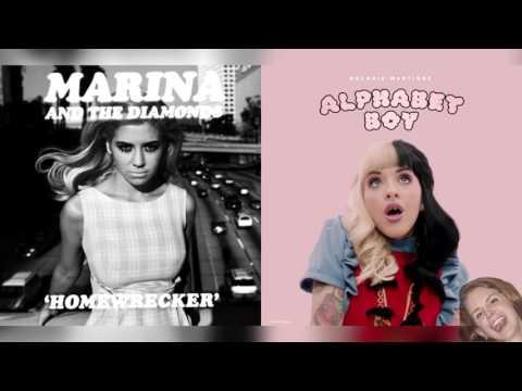 Alphabet Boy x Homewrecker - Marina and The Diamonds & Melanie Martinez Mashup