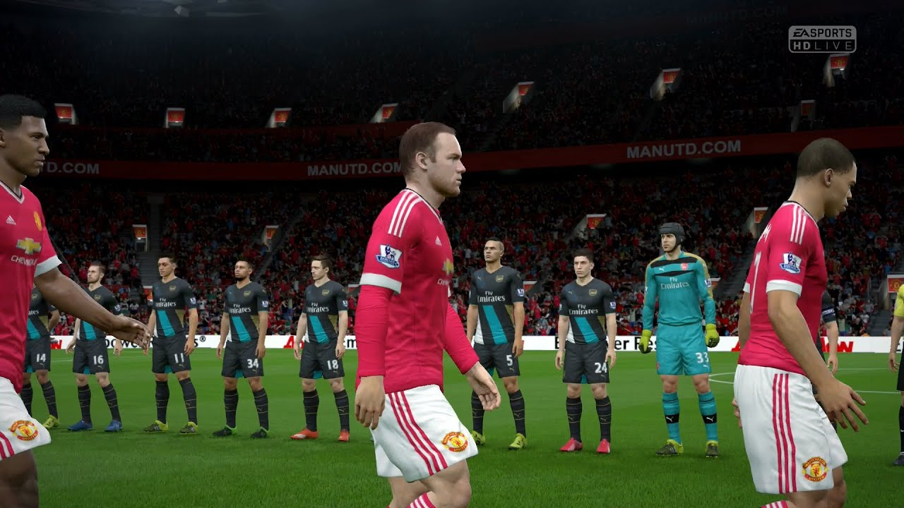 Fifa 16 manchester united vs arsenal full gameplay ps4xbox fifa 16 manchester united vs arsenal full gameplay ps4xbox one youtube voltagebd Image collections