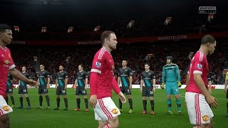 FIFA 16 | Manchester United vs  Arsenal - Full Gameplay (PS4/Xbox One)
