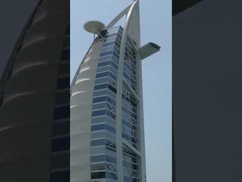 4k UHD- Front of Burj Al-Arab – Dubai , Downtown_Jumeirah -Beachمقابل برج العرب ، دبي 23 August 2021
