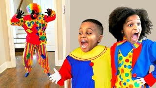 clown vs shasha and shiloh onyx kids