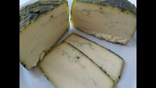 Домашний сыр Качотта со шпинатом Пробуем зеленый сыр вместе