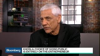 Vinod Khosla, Rubrik CEO on Tech IPOs, Trump Travel Ban