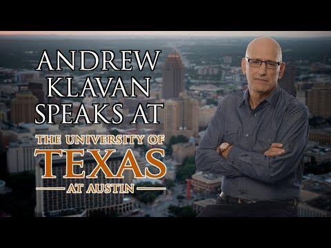 FULL VIDEO: Andrew Klavan Speaks At UT Austin