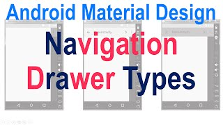 10: Material Navigation Drawer Types Slidenerd