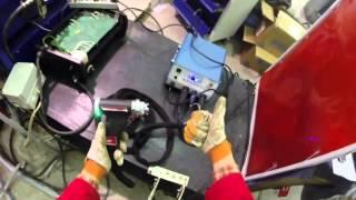видео Конденсаторная сварка - обзор технологии и оборудования